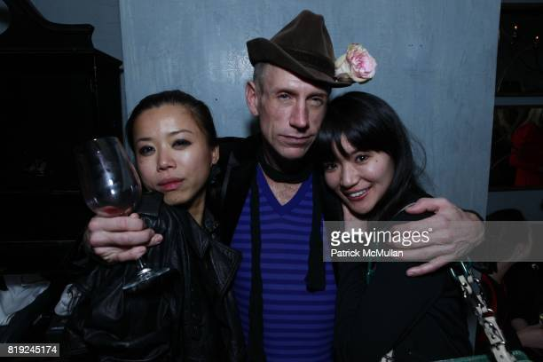 Ting Ting Zack Bruns and Akiko Matsuura attend SONIA RYKIEL POUR HM Exclusive Preview at Bobo on February 4 2010 in New York City