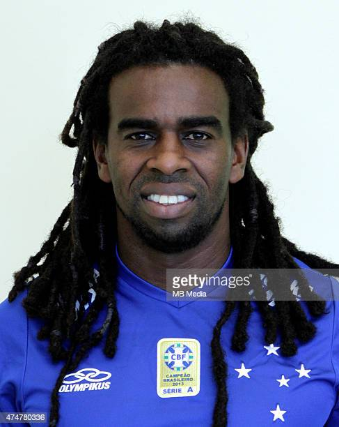 Tinga of Cruzeiro Esporte Clube poses during a portrait session on August 14 2014 in Belo HorizonteBrazil