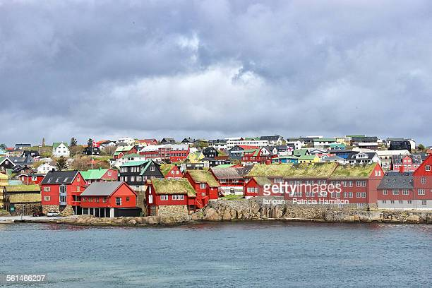 tinganes district, torshavn, faroe islands - torshavn stock pictures, royalty-free photos & images