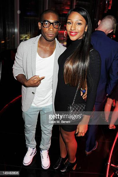 Tinie Tempah and Alexandra Burke attend as W London-Leicester Square hosts an after party following the World Premiere of 'iLL Manors' the debut film...