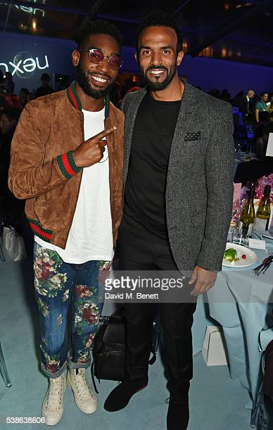 Tinie Tempah and Craig David attend the Glamour Women Of The Year Awards in Berkeley Square Gardens on June 7 2016 in London United Kingdom