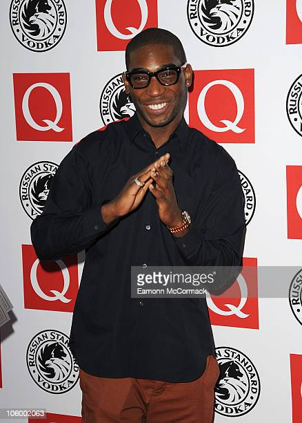 Tinie Tempah arrives at the Q Awards 2010 at The Grosvenor House Hotel on October 25, 2010 in London, England.