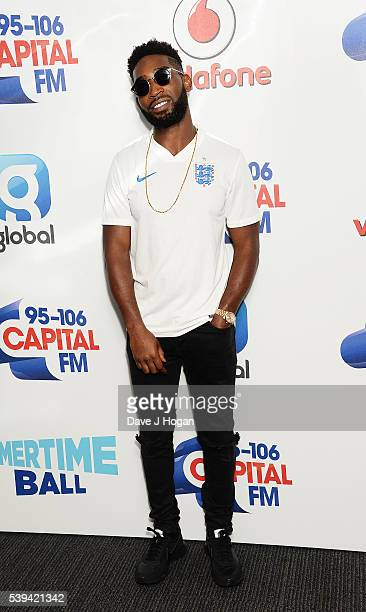 Tinie Tempah arrives for Capital's Summertime Ball at Wembley Stadium on June 11 2016 in London England