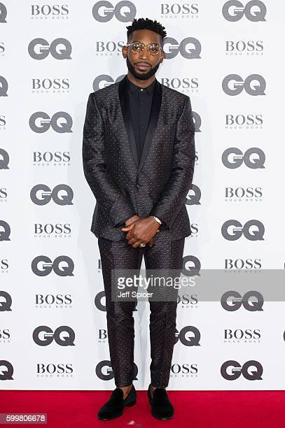 Tinie Tempah arrives for GQ Men Of The Year Awards 2016 at Tate Modern on September 6 2016 in London England