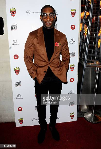 Tinie Tempah arrives for the Beats by Dre present Tinie Tempah's album launch party at DSTRKT on November 7 2013 in London England Demonstration...