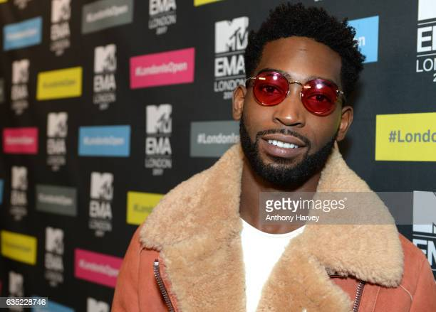 Tinie Tempah at a photocall to announce London as the host city for the 2017 MTV EMA's at MTV London on February 14 2017 in London England