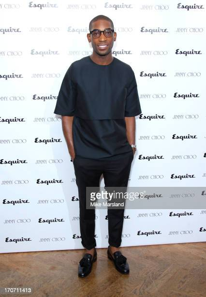 Tinie Tempah attends a party hosted by Jimmy Choo & Esquire during the London Collections SS14 on June 16, 2013 in London, England.