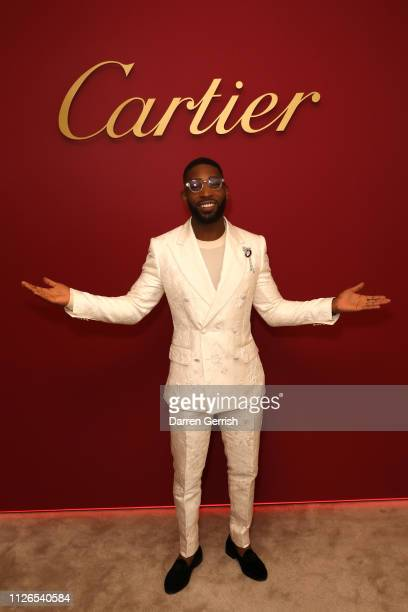 Tinie Tempah attends as Cartier celebrates the reopening of the New Bond Street boutique on January 31, 2019 in London, England.