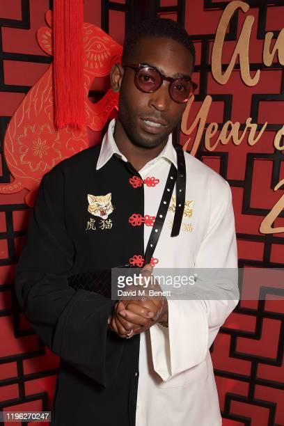 Tinie Tempah attends Chinese New Year 2020 at Annabel's on January 25, 2020 in London, England.