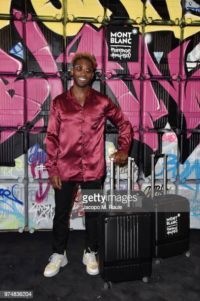 Tinie Tempah attends Montblanc cocktail party during the 94th Pitti Immagine Uomo on June 14 2018 in Florence Italy