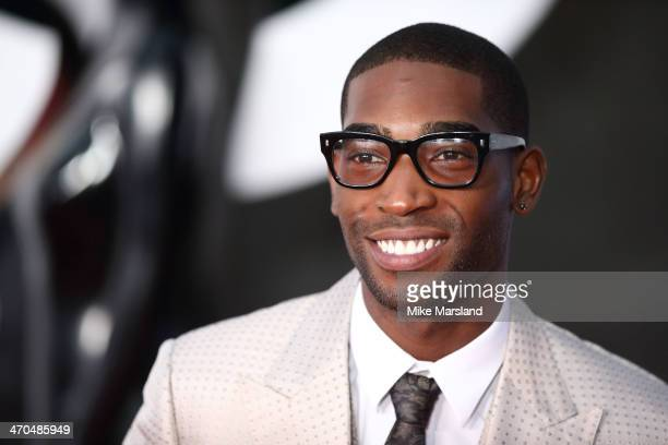 Tinie Tempah attends The BRIT Awards 2014 at 02 Arena on February 19 2014 in London England