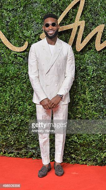 Tinie Tempah attends the British Fashion Awards 2015 at London Coliseum on November 23 2015 in London England