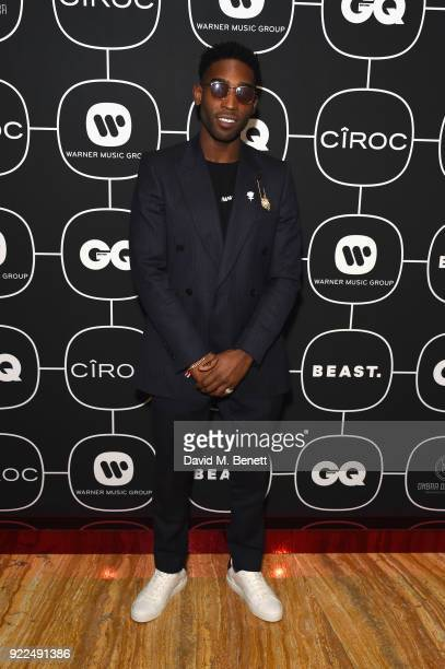 Tinie Tempah attends the Brits Awards 2018 After Party hosted by Warner Music Group Ciroc and British GQ at Freemasons Hall on February 21 2018 in...