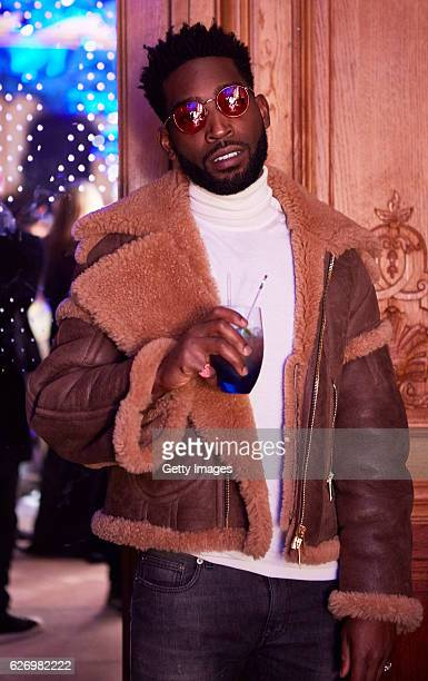 Tinie Tempah attends the Ciroc Vodka preshow drinks reception ahead of the Victoria's Secret show on November 30 2016 in Paris France