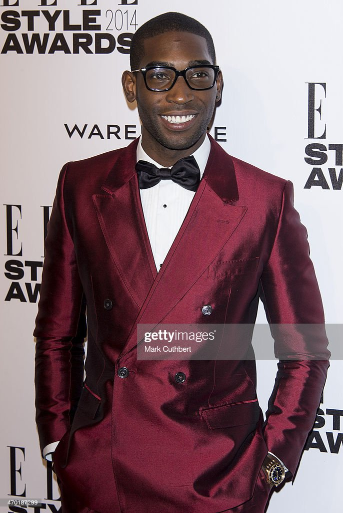 Tinie Tempah attends the Elle Style Awards 2014 at one Embankment on February 18, 2014 in London, England.