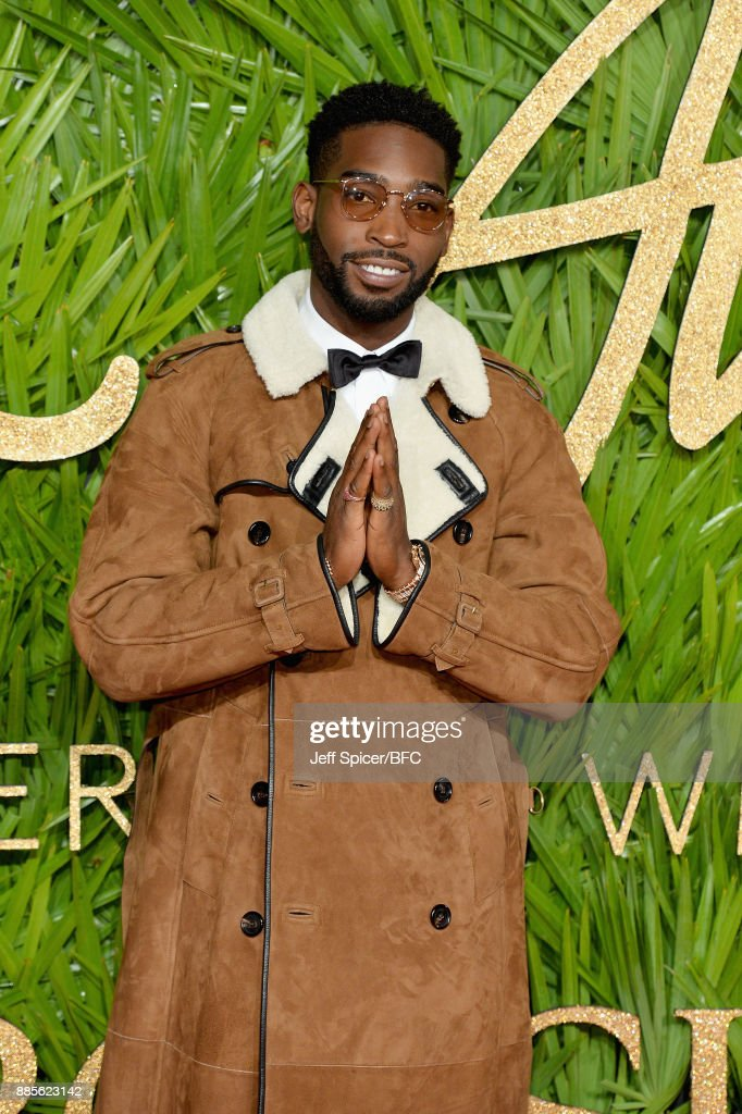Tinie Tempah attends The Fashion Awards 2017 in partnership with Swarovski at Royal Albert Hall on December 4, 2017 in London, England.