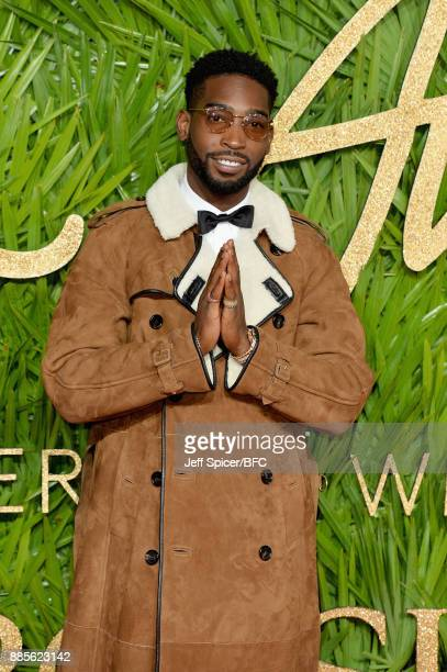 Tinie Tempah attends The Fashion Awards 2017 in partnership with Swarovski at Royal Albert Hall on December 4 2017 in London England
