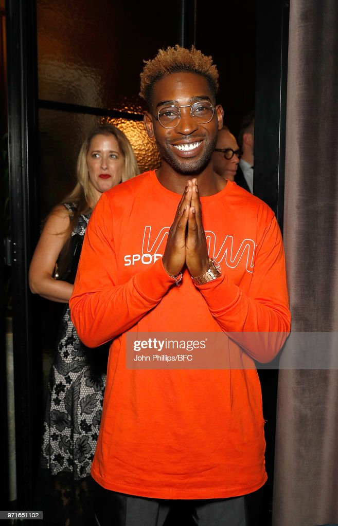 Tinie Tempah attends the GQ Dinner co-hosted by Loyle Carner during London Fashion Week Men's June 2018 at the The Principal London on June 11, 2018 in London, England.