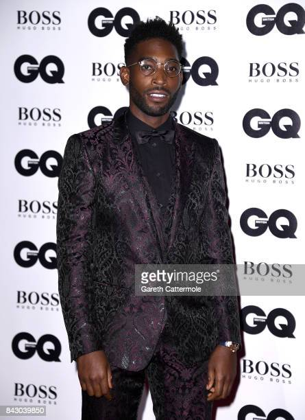 Tinie Tempah attends the GQ Men Of The Year Awards at the Tate Modern on September 5 2017 in London England