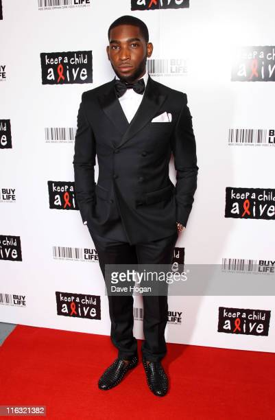 Tinie Tempah attends the Keep a Child Alive Black Ball 2011 at Camden Roundhouse on June 15, 2011 in London, England.