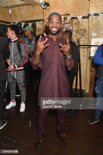 Tinie Tempah attends the launch of the What We Wear pop-up shop on October 1, 2018 in London, England.