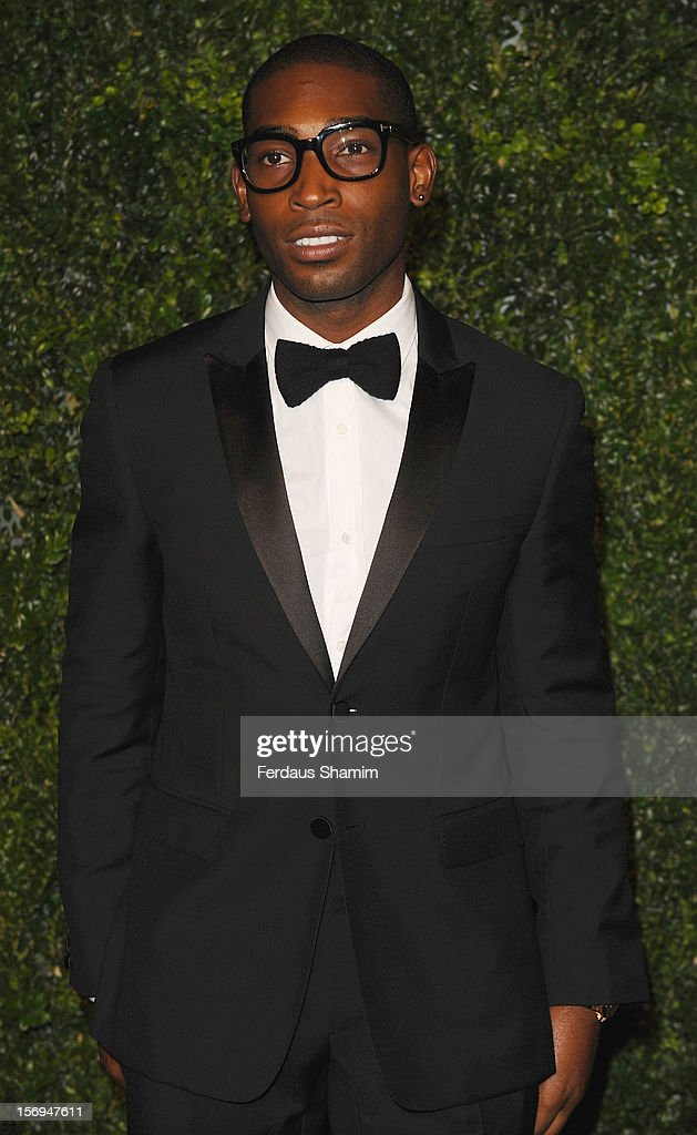 Tinie Tempah attends the London Evening Standard Theatre Awards on November 25, 2012 in London, England.