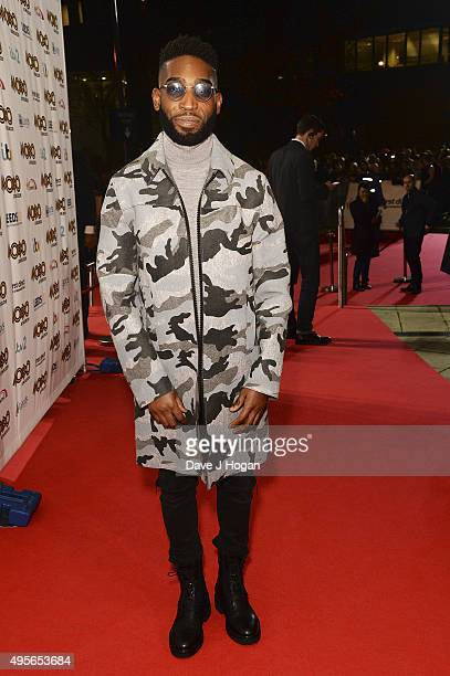 Tinie Tempah attends the MOBO Awards at First Direct Arena on November 4 2015 in Leeds England