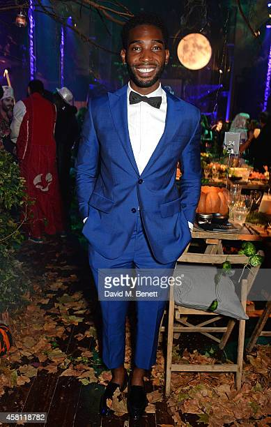 Tinie Tempah attends the Unicef UK Halloween Ball, raising vital funds to help protect Syria's children from danger, at One Mayfair on October 30,...