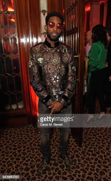 Tinie Tempah attends The Warner Music Ciroc Brit Awards After Party on February 22 2017 in London England