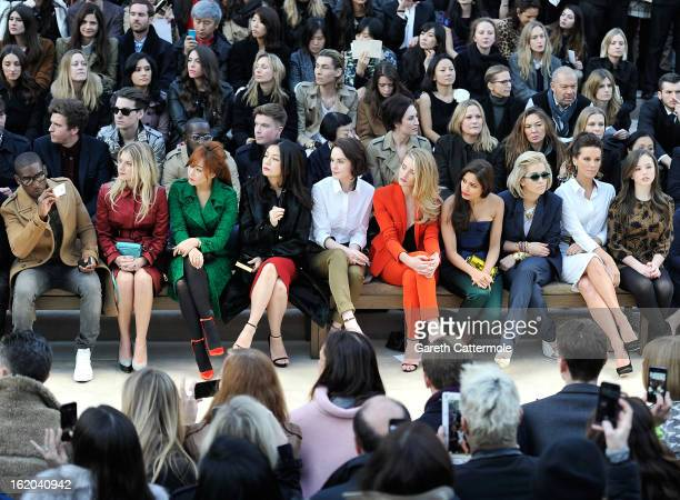 Tinie Tempah Melanie Laurent Kim Heesun Vicki Zhao Michelle Dockery Rosie HuntingtonWhiteley Freida Pinto Rita Ora Kate Beckinsale and Lily Mo Sheen...