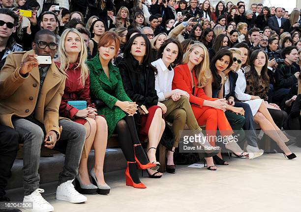 Tinie Tempah Melanie Laurent Kim Heesun Vicki Zhao Michelle Dockery Rosie HuntingtonWhiteley Freida Pinto Rita Ora Kate Beckinsale and Lily Mo Sheen...