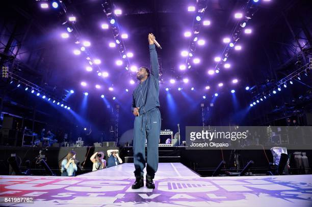 Tinie Tempah performs at Fusion Festival on September 2 2017 in Liverpool England