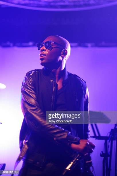 Tinie Tempah performs at Loughborough University on October 12 2010 in Loughborough England