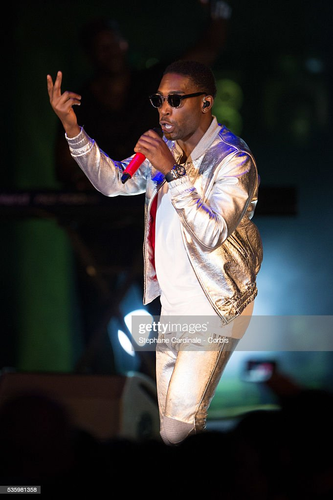 Tinie Tempah performs during the ceremony of the World Music Awards 2014 at Sporting Monte-Carlo on May 27, 2014 in Monte-Carlo, Monaco.