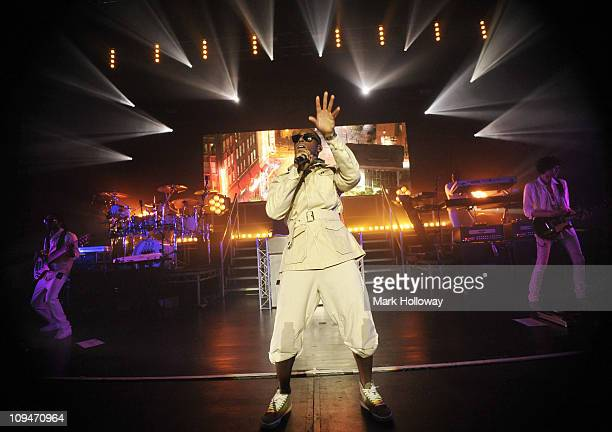 Tinie Tempah performs on stage at Southampton Guildhall on February 26, 2011 in Southampton, England.