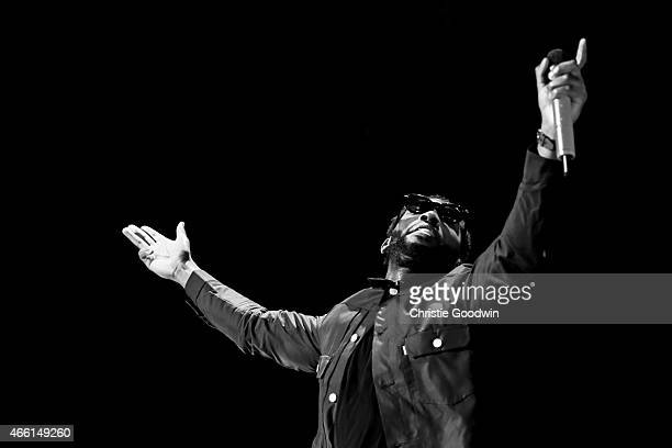Tinie Tempah performs on stage at The O2 Arena on March 13, 2015 in London, United Kingdom.