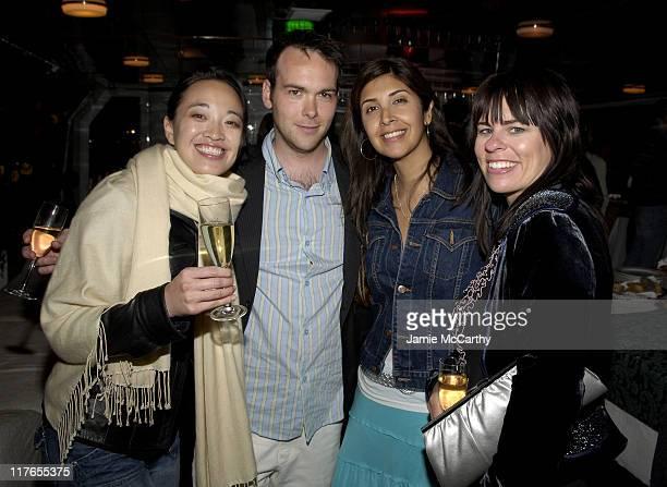 Tinnie Chow, Dana Brunetti, President of Trigger Street Productions, Johanna Argan and Melissa Beauford