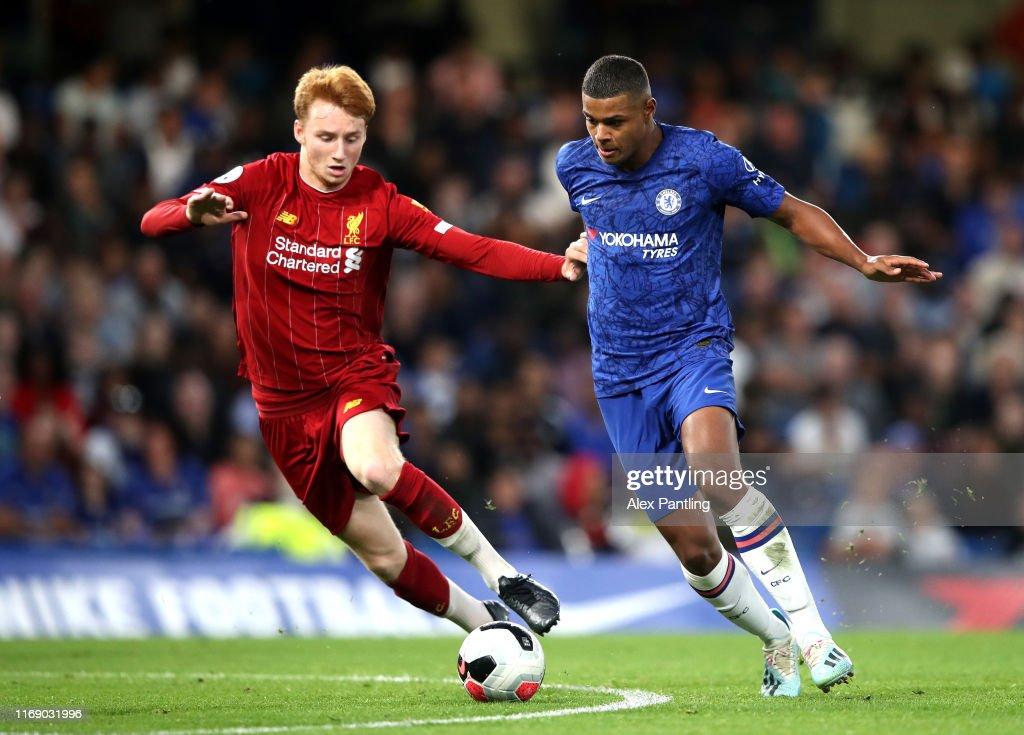 Chelsea v Liverpool - Premier League 2 : Nachrichtenfoto