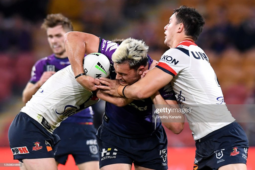 NRL Rd 8 - Storm v Roosters : News Photo
