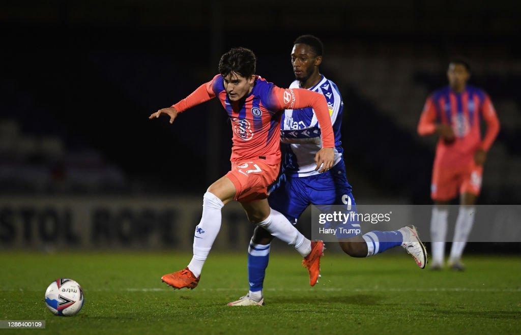 Bristol Rovers v Chelsea U21 - EFL Trophy : News Photo