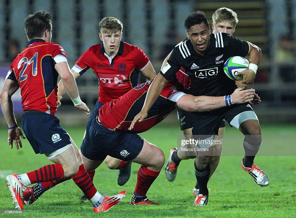 New Zealand v Scotland - World Rugby U20 Championship 2015 : News Photo
