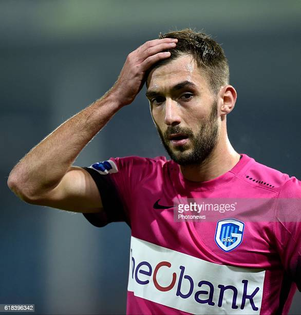 TinoSven Susic midfielder of KRC Genk pictured during Jupiler Pro League match between RCS Charleroi and KRC GENK on October 26 2016 in Charleroi...