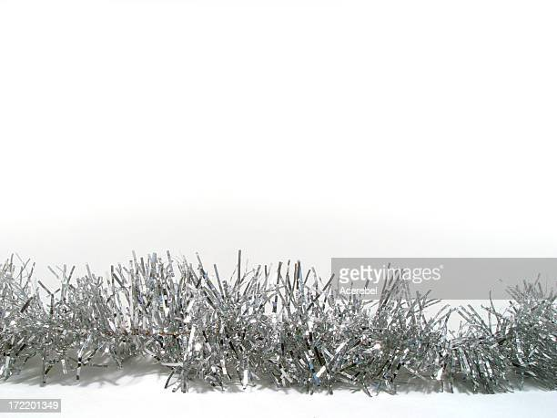 tinsel for text - tinsel stock pictures, royalty-free photos & images