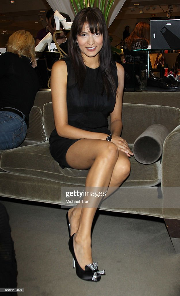 Tinsel Korey attends the Ron White shoe collection launch and charity event held at Nordstrom at the Grove on November 17, 2011 in Los Angeles, California.