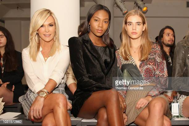 Tinsley Mortimer Afiya Bennett and Sif Saga attend as STYLE360 hosts Mery Playa by Sofia Resing sponsored by Skechers D'Lites on September 11 2018 in...