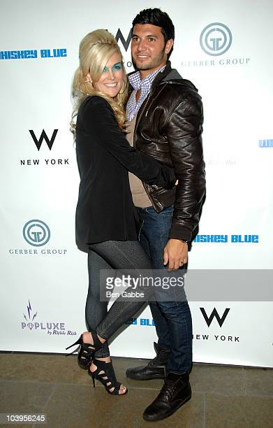 Tinsley Mortimer and Brian Mazza attend the Richie Rich Fashion Week AfterParty at Whiskey Blue at W New York on September 9 2010 in New York City