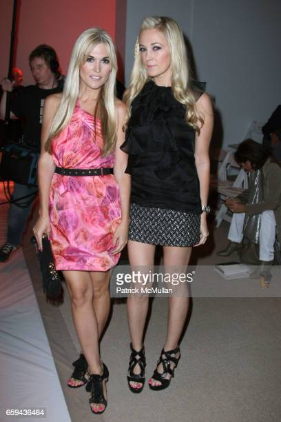 Tinsley Mortimer and Dabney Mercer attend MILLY by Michelle Smith Spring 2010 Collection at Promenade on September 16 2009 in New York City