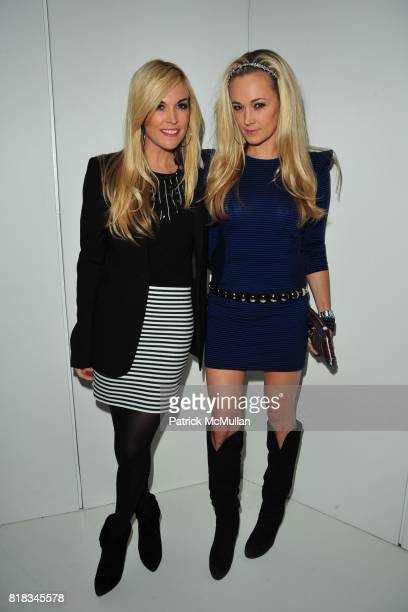 Tinsley Mortimer and Dabney Mercer attend Opening of the First NY Hermes Men's Store After Party at Seventh Regiment Armory on February 9th 2010 in...