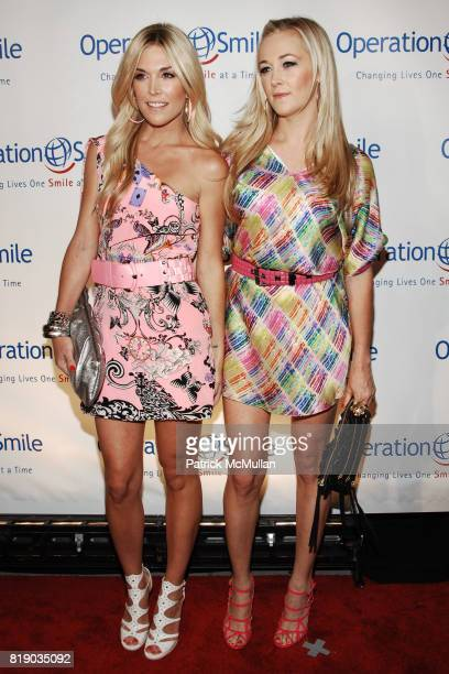 Tinsley Mortimer and Dabney Mercer attend OPERATION SMILE Celebrates Annual Gala at Cipriani Wall Street on May 6 2010 in New York City