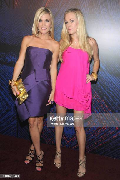 Tinsley Mortimer and Dabney Mercer attend YSL 'BELLE D'OPIUM' Fragrance Launch at The YSL Stage on June 17th 2010 in New York City